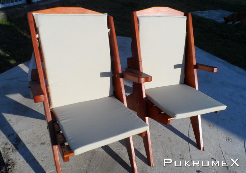 Poduszki Na Meble Ogrodowe Bahama : Poduszka na krzesło  kolor jasnobeżowy